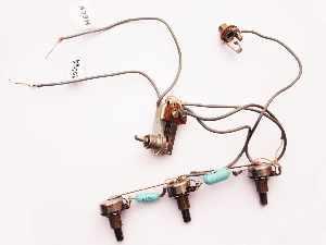 1968 vox stinger bass wiring loom vintage guitar parts. Black Bedroom Furniture Sets. Home Design Ideas