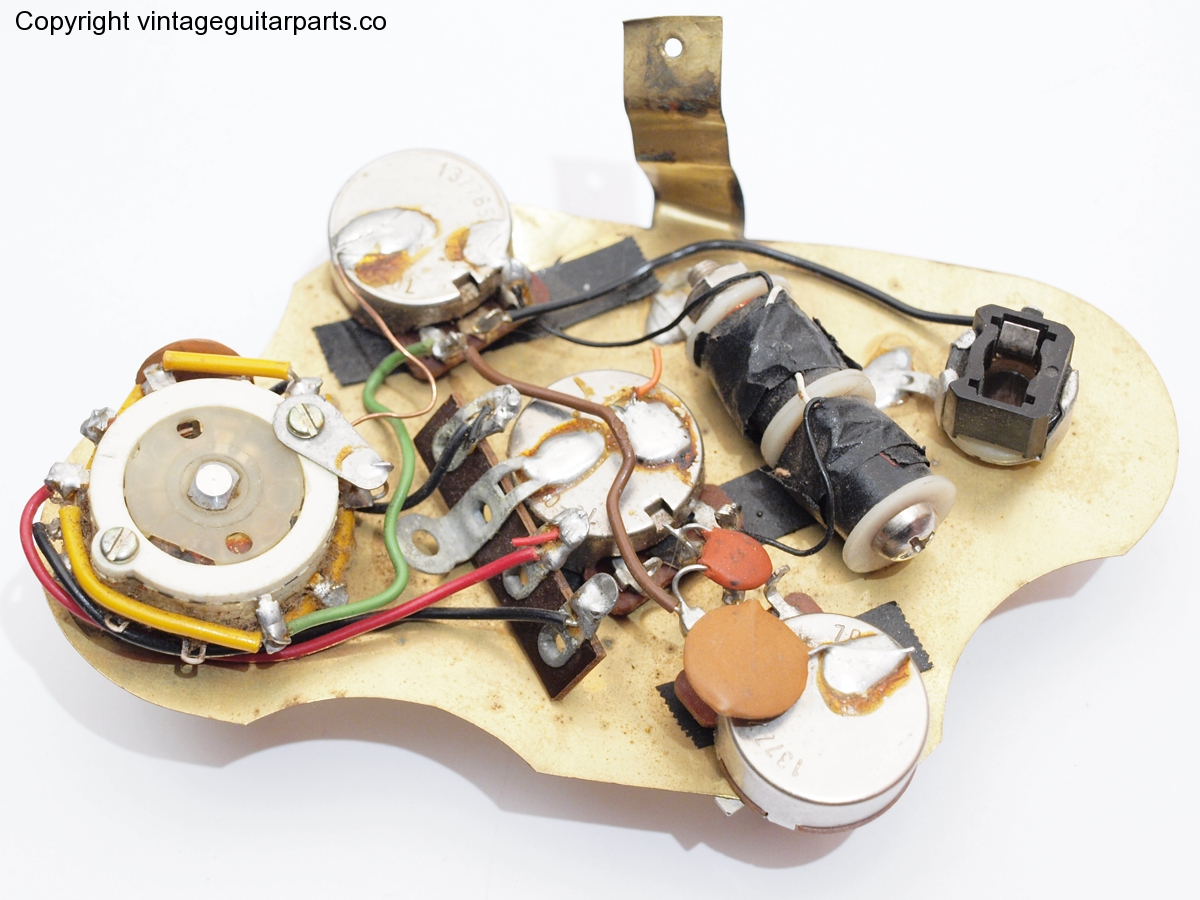 Gibson L6S Custom wiring loom | Vintage Guitar Parts